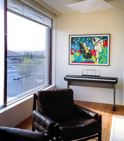 Living Room - Piano